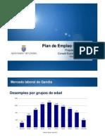 Plan Empleo 2012