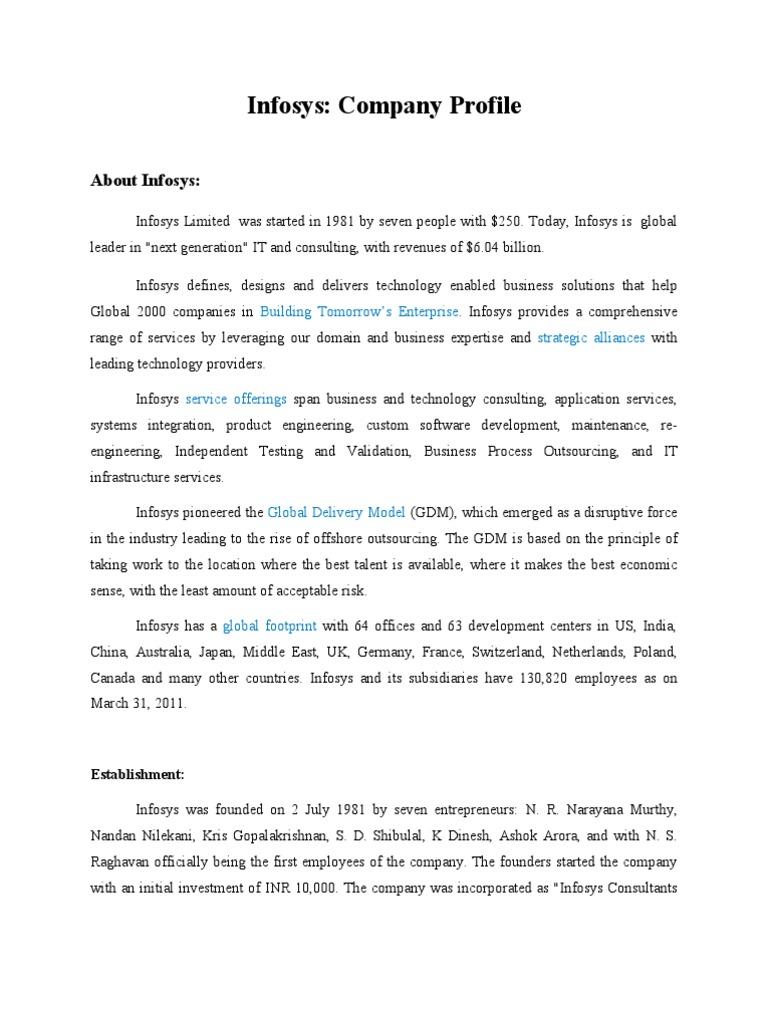 infosys mission statement