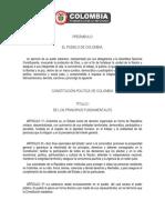 CONSTITUCION POLITICA COLOMBIANA