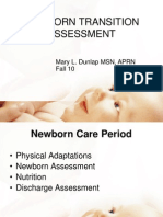 Lecture 6 Newborn Transition-Assessment Fall 10