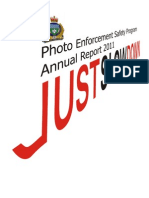 2011 Photo Enforcement Annual Report