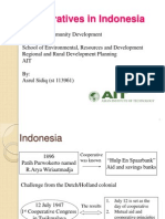 Cooperatives in Indonesia (Revised Presentation)