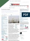 The Dark Side of Dubai - Johann Hari - Commentators - The Independent