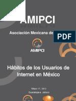 Habitos 2012 AMIPCI-Prensa