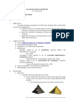 A Lesson Plan in Geometry-Villaruz