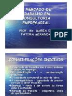 Consultoria Empresarial_o Mercado