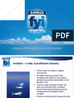 Airbus Approach to Eco-Efficiency