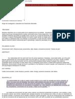 Hoyos - CONDICIONANTES SOCIALES EXPERIENCIA TÁCTIL