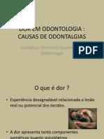 Dor Em Odontologia