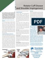 Rotator Cuff Disease  and Shoulder Impingement