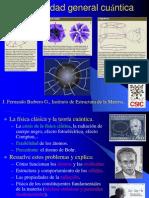 Relatividad General Cuantica