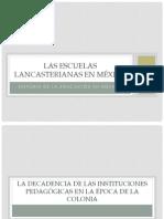 Las escuelas lancasterianas en México
