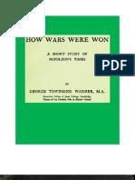 1815 How Wars Were Won