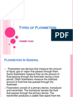 Types of Flow Meters