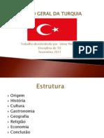 VISÃO GERAL DA TURQUIA