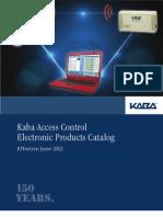 Kaba e Plex Electronic Access Control Catalog