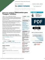 16-05-2012 Buscan integrar fideicomiso para Tianguis Turístico - eleconomista.com.mx