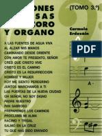 24577561 Canciones Famosas Para Coro y Organo 03 Carmelo Erdozain