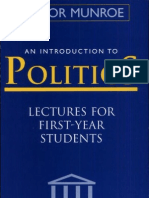 Introduction to Politics by Trevor Munroe