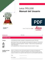 Manual LeicaTPS 1200 Series