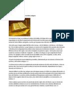 La Biblia - Parte -3