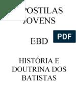 APOSTILAS JOVENS -  BATISTAS