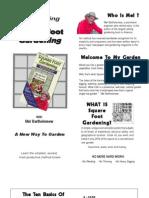 Square Foot Gardening Summary
