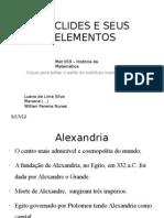 Euclides e Seus Elementos