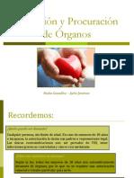 Donación y Procuración de Órganos