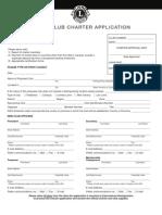 Club de Leon Application