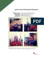 neuwal im Gespräch mit der Piratenpartei Österreich (Rodrigo Jorquera, Christian Marin)