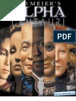 Alpha Centauri - Manual - PC