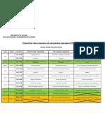 Cal en Drier Examen S2 2011-2012 2eme A