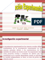 INVESTIGACIÓN EXPERIMENTAL