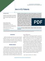 Acido Base Disorders in Icu