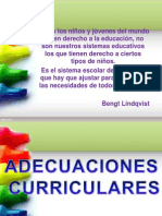 Ahora Si Expo Sic Ion de Clase Adecuaciones Curriculares