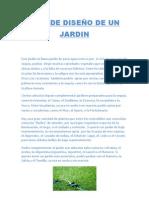 TIPO DE DISEÑO DE UN JARDIN