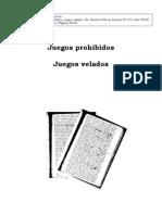 2006_Juegos velados