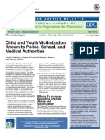 Child and Youth Victimization