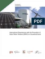 En Internat Experiences Promoting Solar Water Heaters