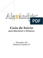 Alexandria v6 - Guía de Inicio