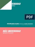 Afiches Campaña Senado Universitario - Benjamín Mejías Valencia