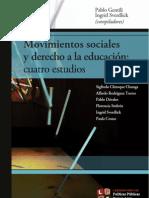 GENTILI, P e SVERDLICK, I (comp). Movimientos sociales y derecho a la educación