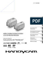 Manual Camara Filamadora Hdrcx350_handbook_es[1]