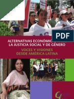 LIBRO. Alternativas Económicas para la Justicia Social y de Género. Con Articulo sobre BanMujer