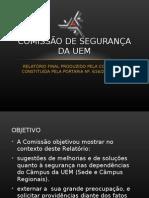 COMISSÃO DE Segurança DA UEM final 97