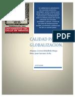 Trabajo de Calidad Para La Globalizacion 9 de Abril Entrega
