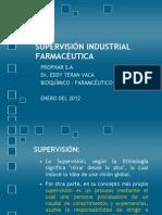 Supervison Industrial Farmaceutica