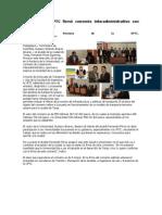 Rector de la UPTC firmó convenio interadministrativo con Alcaldía de Tunja