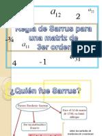 matematica Sarrus